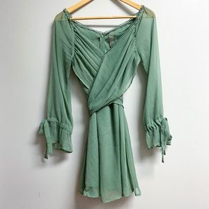 ASOS Sage Green Dress